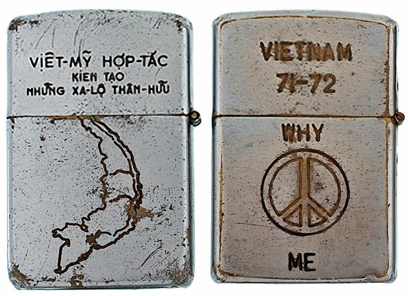 Коллекция солдатских зажигалок Zippo (5)