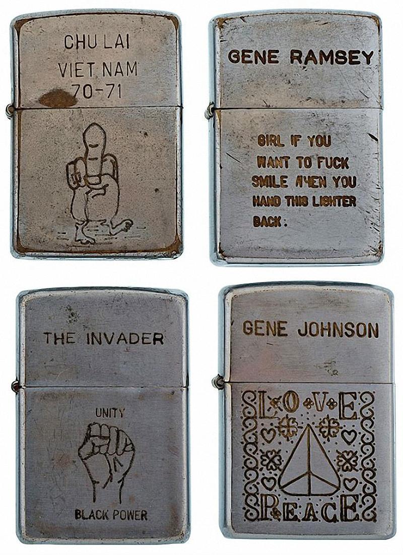 Коллекция солдатских зажигалок Zippo (8)