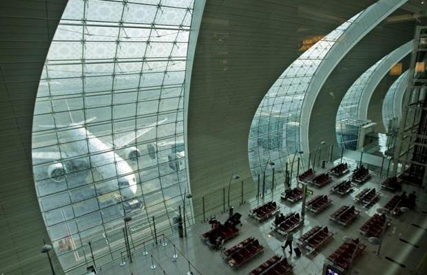 Фотогалерея нового терминала в Дубаях (12)