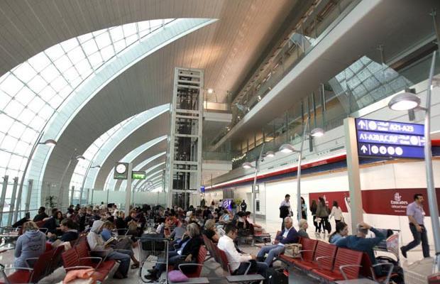 Фотогалерея нового терминала в Дубаях (13)