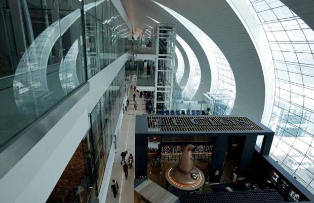 Фотогалерея нового терминала в Дубаях (7)