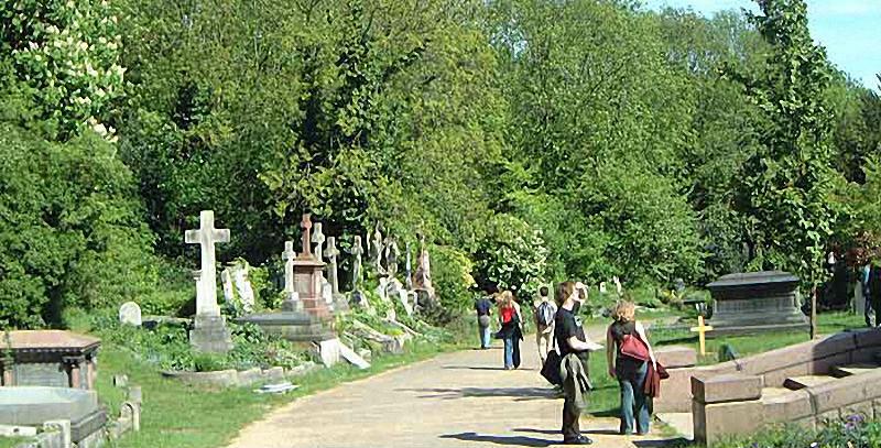 Необычные экскурсии по кладбищам (4)