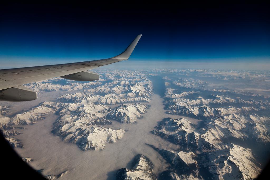 Мир с окна самолета (33)