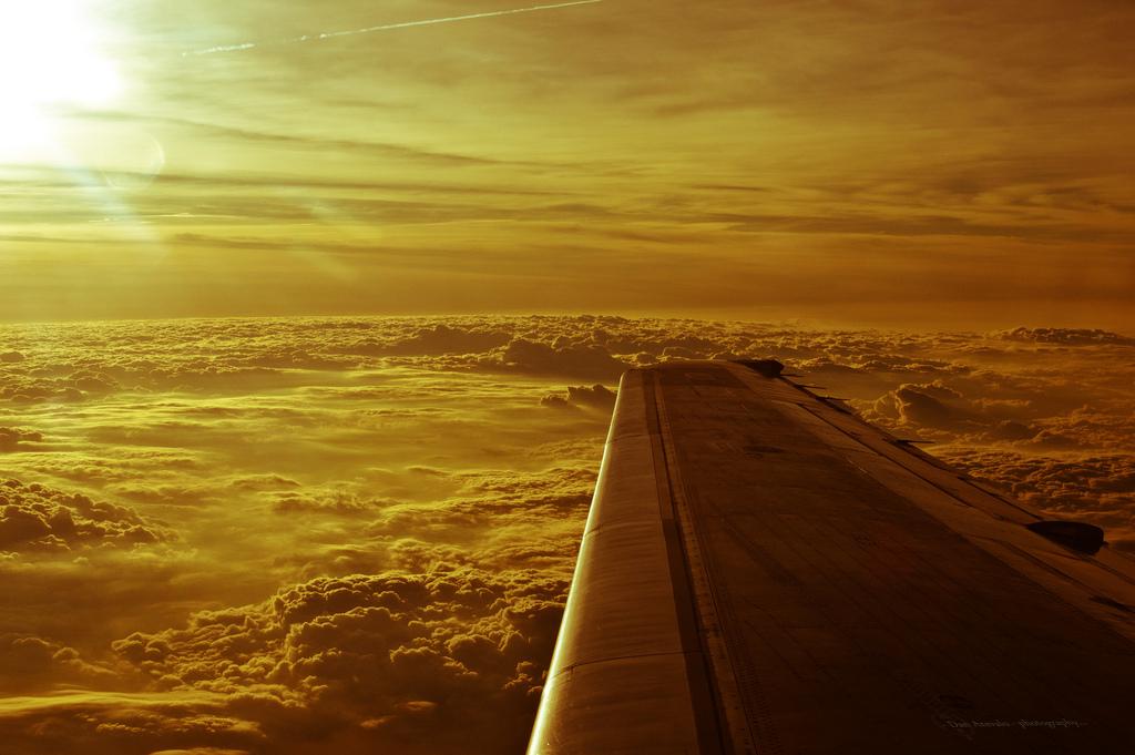 Мир с окна самолета (1)