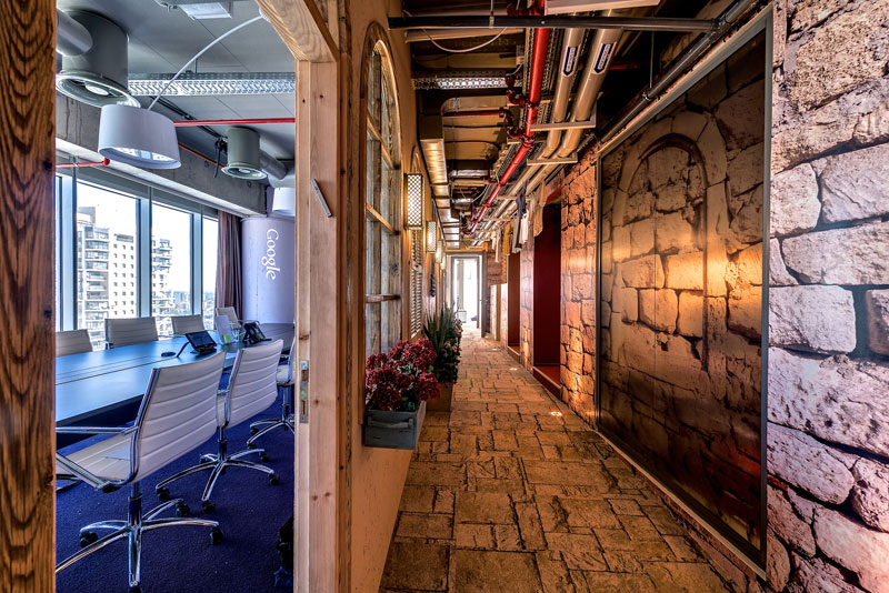 Креативный офис от Google в Тель-Авиве (17)