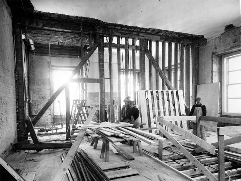 Экскурсия на реконструкцию Белого дома (10)
