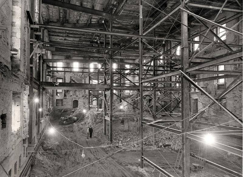 Экскурсия на реконструкцию Белого дома (2)