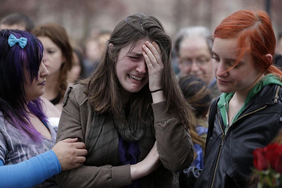 Дань памяти жертв бостонского марафона (11)