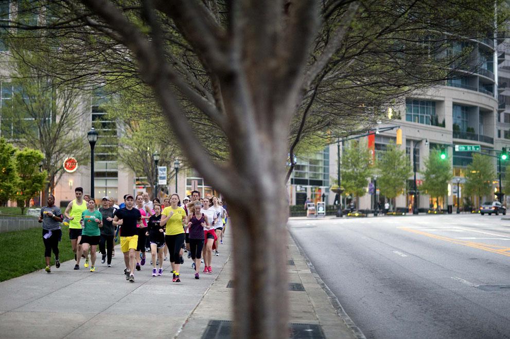 Дань памяти жертв бостонского марафона (5)