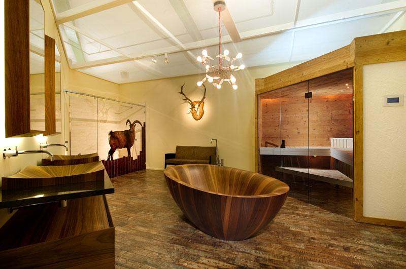 Деревянные ванны (2)