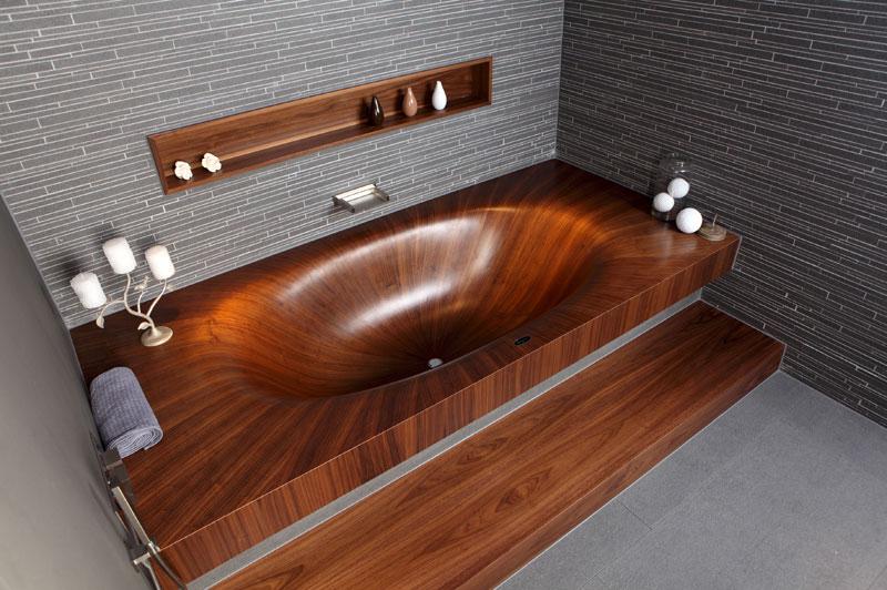 Деревянные ванны (3)