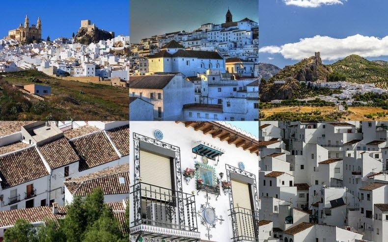 Города Испании - Пуэбло Бланко Андалусии (1)