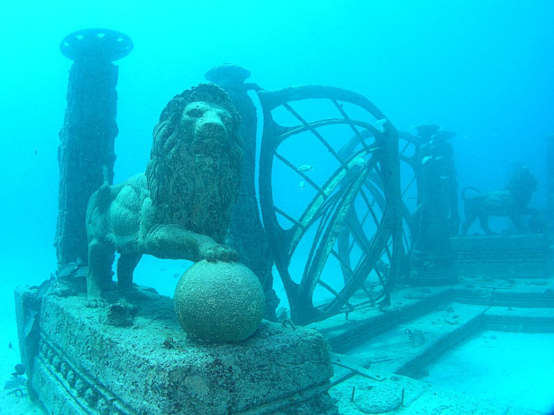 Новое кладбище под водой (2)
