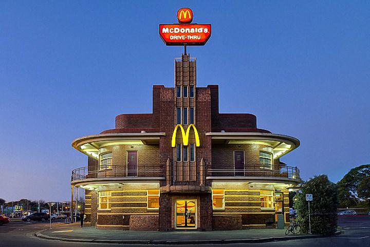 Необычные здания McDonald's (1)
