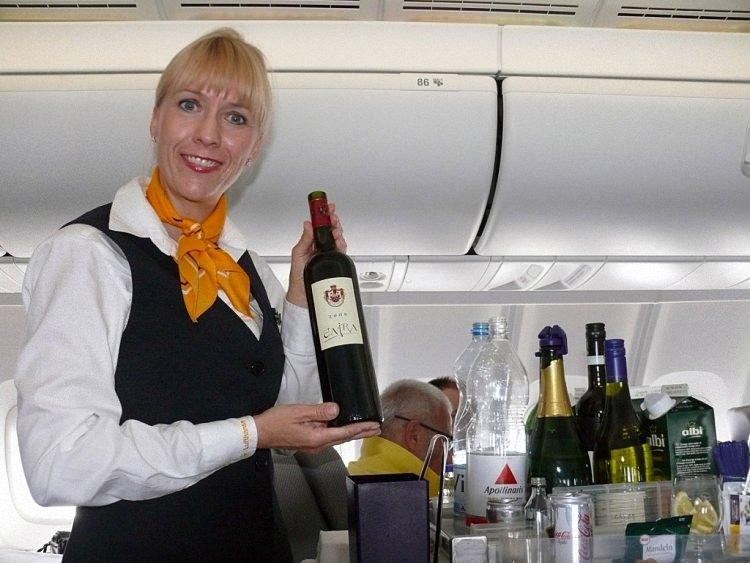Питание в самолете - обзор авиакомпаний мира (18)