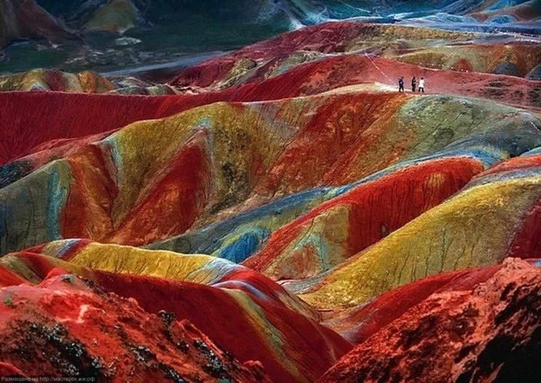 Красные скалы Чжанъе Данксиа (13)