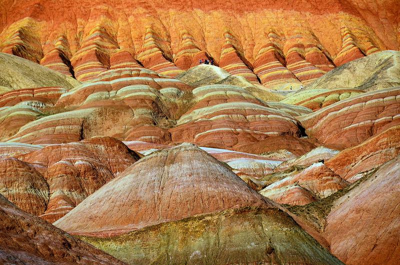 Красные скалы Чжанъе Данксиа (4)