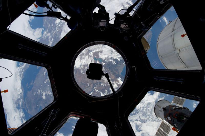 Купол МКС - окно в Космос (4)