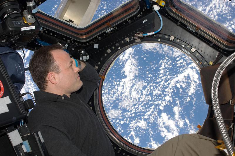 Купол МКС - окно в Космос (8)