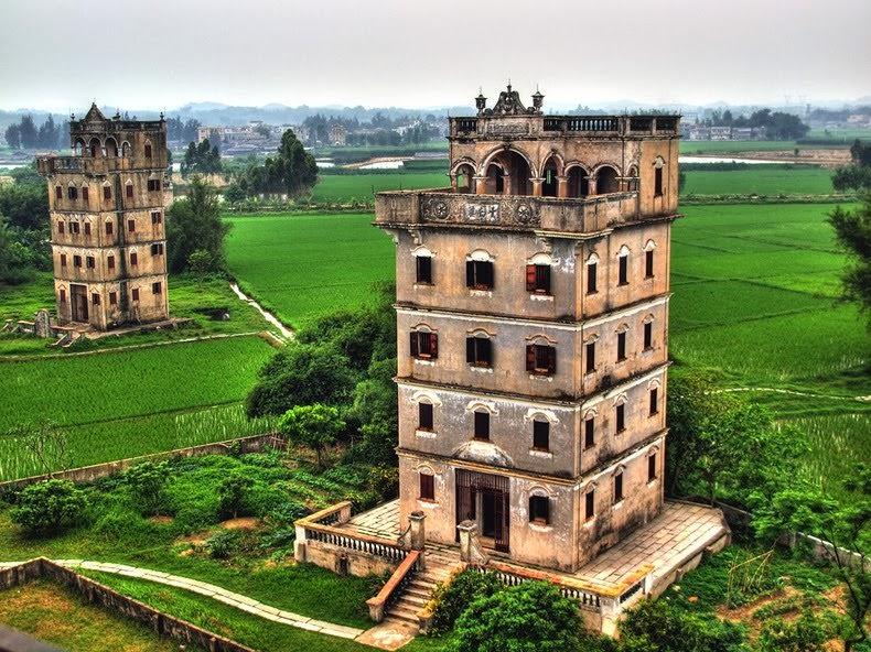 Старые башни Дяолоу (Diaolou) (1)