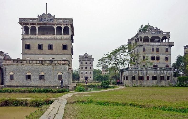 Старые башни Дяолоу (Diaolou) (2)