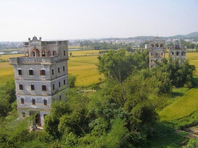 Старые башни Дяолоу (Diaolou) (9)