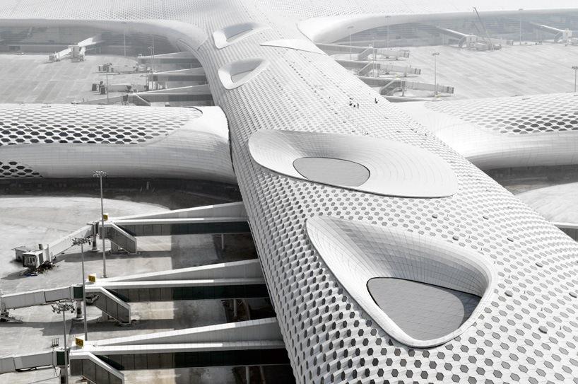 Удивительный терминал международного аэропорта Шэньчжэнь (10)