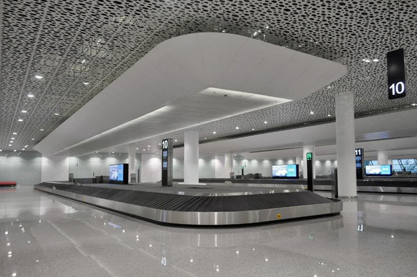 Удивительный терминал международного аэропорта Шэньчжэнь (6)