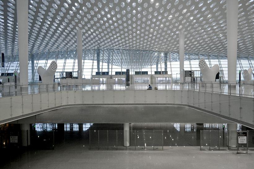 Удивительный терминал международного аэропорта Шэньчжэнь (4)