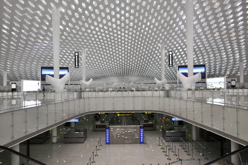 Удивительный терминал международного аэропорта Шэньчжэнь (3)