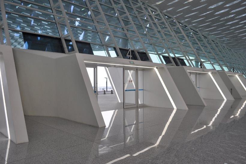 Удивительный терминал международного аэропорта Шэньчжэнь (1)