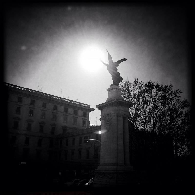 черно-былые фотографии Рима (14)
