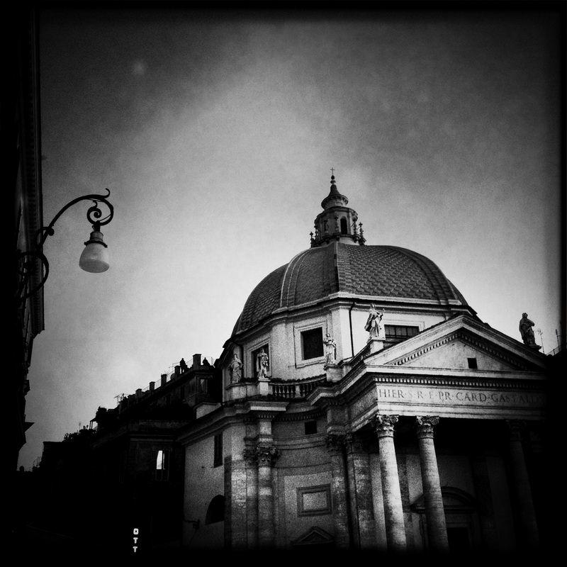 черно-былые фотографии Рима (17)