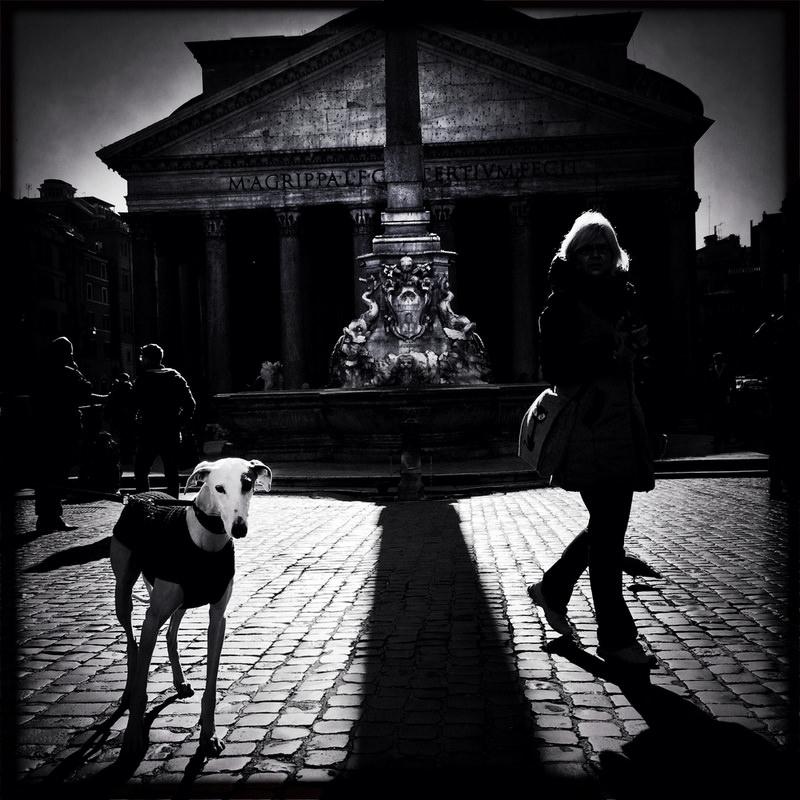 черно-былые фотографии Рима (3)