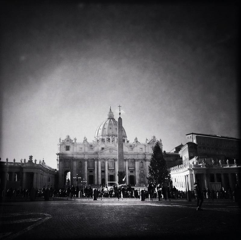 черно-былые фотографии Рима (4)