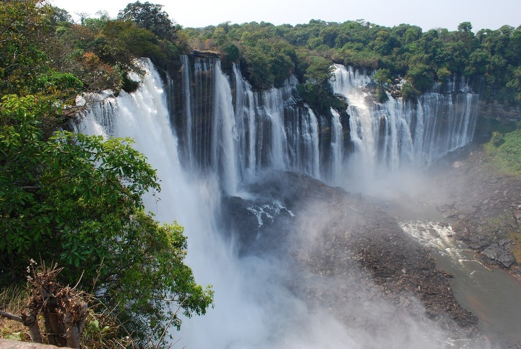 Фото водопада Каландула