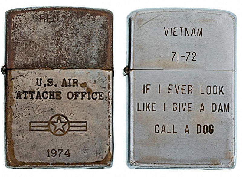 Коллекция солдатских зажигалок Zippo (19)