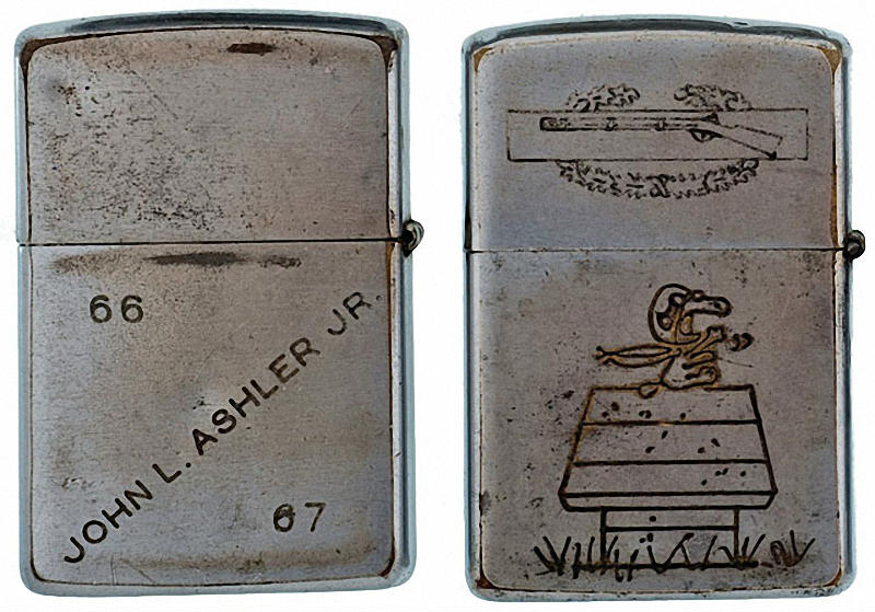 Коллекция солдатских зажигалок Zippo (20)