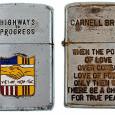 Коллекция солдатских зажигалок Zippo (21)