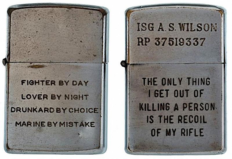 Коллекция солдатских зажигалок Zippo (9)