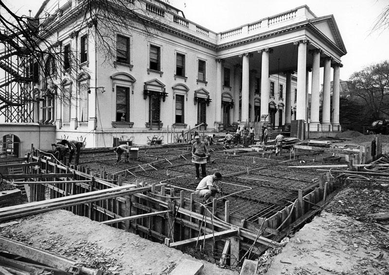 Экскурсия на реконструкцию Белого дома (13)