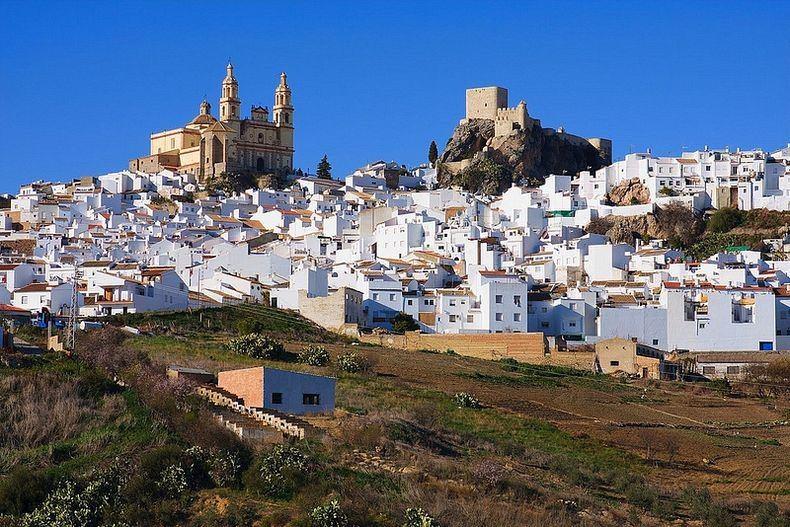 Города Испании - Пуэбло Бланко Андалусии (2)