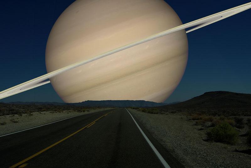 Планеты Солнечной системы на горизонте Земли (6)