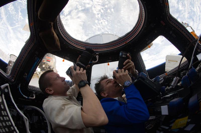 Купол МКС - окно в Космос (12)