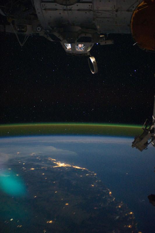 Купол МКС - окно в Космос (15)