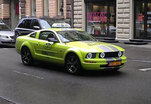 taxi09 Необычные такси