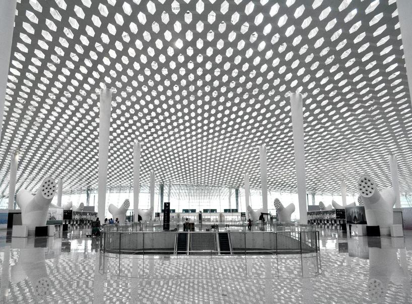 Удивительный терминал международного аэропорта Шэньчжэнь (14)
