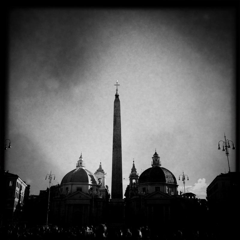 черно-былые фотографии Рима (12)