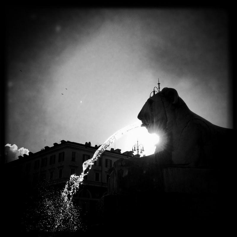 черно-былые фотографии Рима (13)