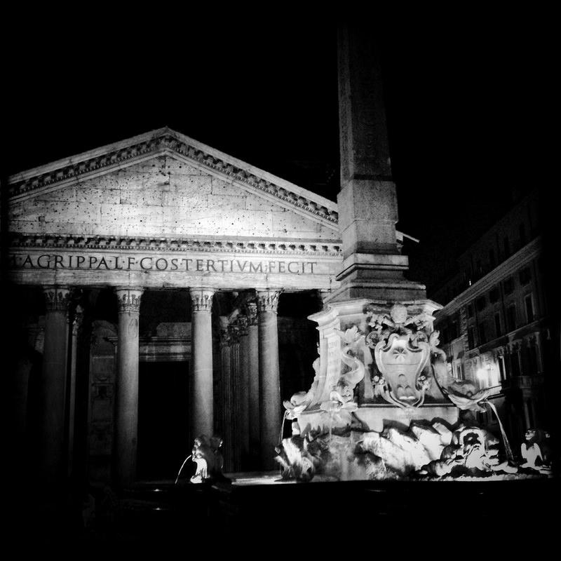 черно-былые фотографии Рима (15)